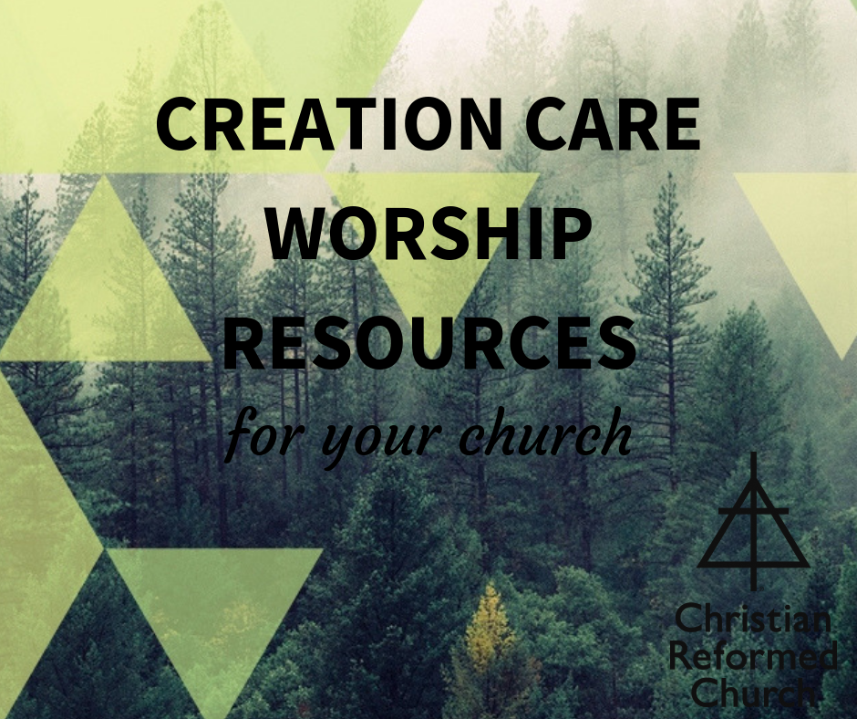 creation care worship resources