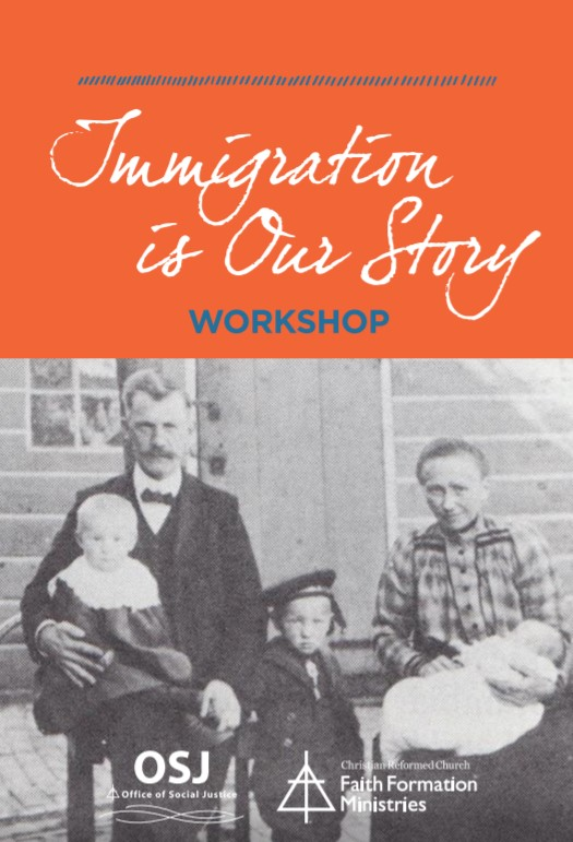 Immigration is Our Story Workshop Guide Cover